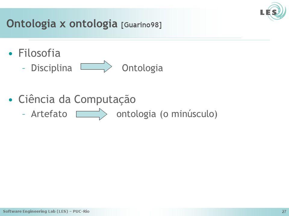 Ontologia x ontologia [Guarino98]